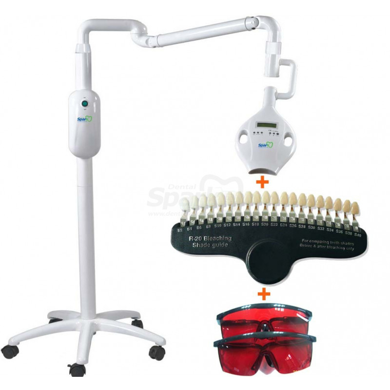 Dental Teeth Bleaching Led Uv Light Tooth Acrylic Resin Denture