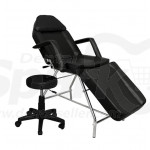 Grinigh Adjustable Teeth Whitening Chair with Hydrolic Side Stool for Dental Clinics or Salon Use, Fully Folding Model