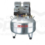 Dentistry Oil-free Air Compressor One for Two Stainless Steel Gasstorage Holder SK-2EW-35A