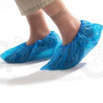 100 PCS/50 Pairs Plastic Shoe Covers Waterproof  Disposable Boot & Shoe Covers for Indoors, Shoe Protectors Covers for Women Men