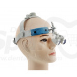 3.0x Magnification Professional Loupes with Comfortable Headband for Dental, Surgical, Jeweler, or Hobby | Adjustable Pupil Distance Model #CH300HB