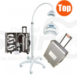 Portable Dental Teeth Bleaching High intensity LED White Light with Aluminium Case CE Approved