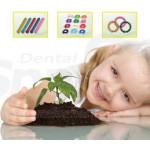 Dentist Elastic Orthodontics Cosmetic Supplies Teeth Ligature Ties Assorted Color Pack of 2080 SK-LT-H