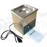 Industrial 2 L 80W Steel Ultrasonic Cleaner/Ultrasonic Baths for Soaking Instruments Dental Lab Cleaning with Timer & Heater SK-YJ-80