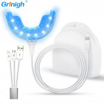 Teeth Whitening Light with 16 LEDs and USB Connected for Home Use (No Need Batteries)